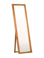 幅50cm シンプルスタンド ミラー